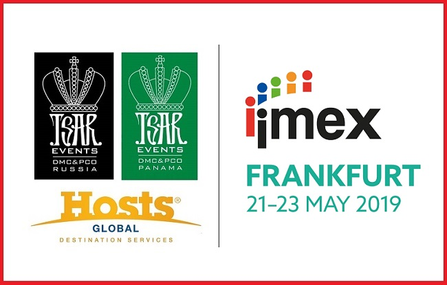 Meet Tsar Events RUSSIA DMC & PCO, a HOSTS GLOBAL member at IMEX Frankfurt 2019, Stand #G405
