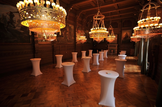 20th Episode of Tsar Events' RUSSIA SURVIVAL GUIDE is devoted to one of most beautifull venues in St. Petersburg - OAK HALL of Grand Duke Vladimir Palace