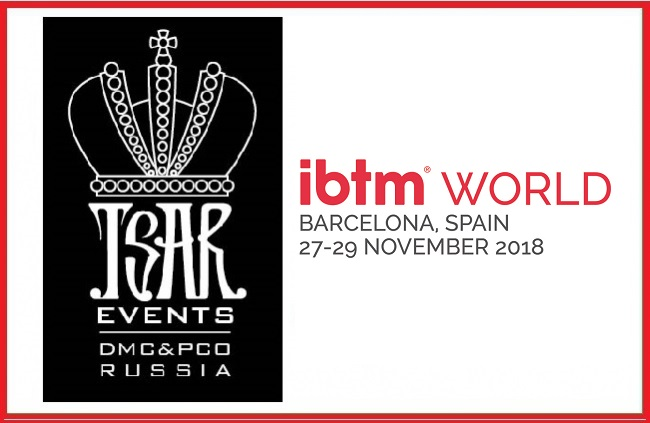 Meet Tsar Events RUSSIA DMC & PCO during IBTM World in Barcelona, Spain