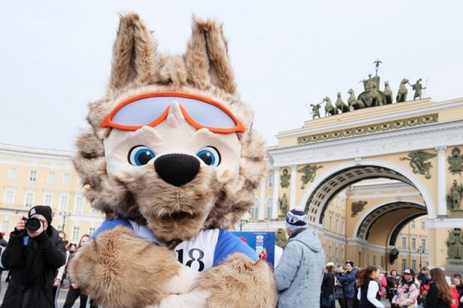 Countdown to the World Cup will start in St. Petersburg