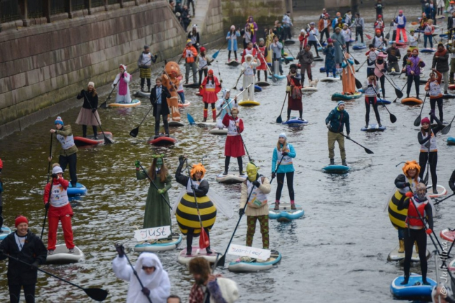 St. Petersburg International Sup-Surfing  Festival Fontanka SUP 2017 will take place in St. Petersburg 08-09th of July
