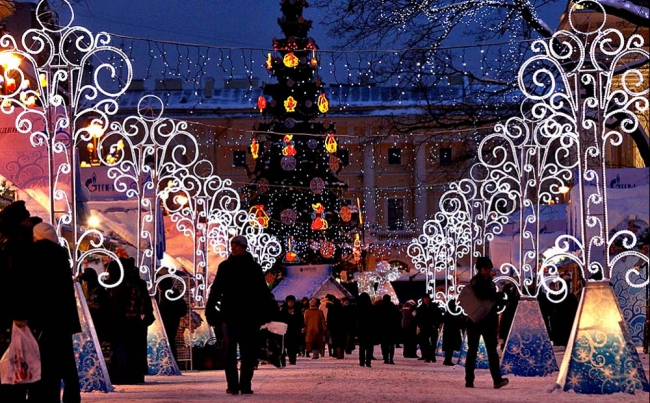 The Christmas Fair in St. Petersburg will open 23rd of December 2017