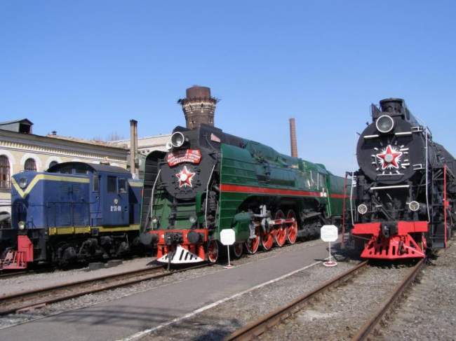 Russia Largest Railway Museum was opened in St. Petersburg