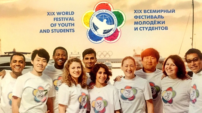 The World Festival of Youth and Students will starts in Sochi, Russia 14th of October