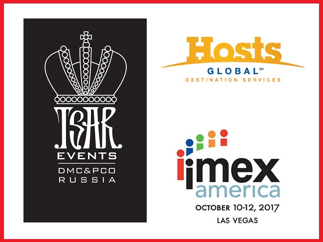 Meet Tsar Events Russia DMC & PCO, HOSTS Global Member at IMEX America 2017, Stand #B1220