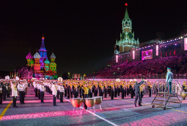 "The Tenth International Military Music Festival ""Spasskaya Tower"" to take place in Moscow 26August-03September"