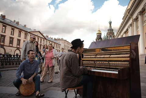 Street Music Day- for the first time in Russia