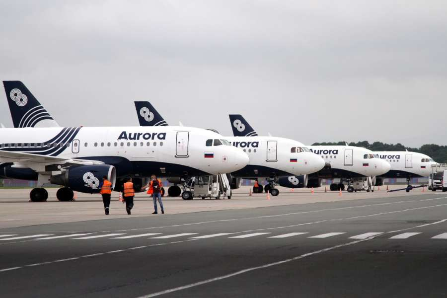 "Russian Airline Company ""Aurora"" resume flights Russia – Japan"