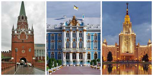 Moscow vs St. Petersburg. Part 2.  Role in History — Ancient Russia vs. Communist vs Czar's Empire