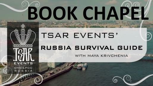 Episode 16: Tsar Events' RUSSIA SURVIVAL GUIDE:  Book Chapel