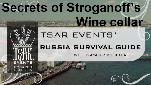 Episode 24: Secrets of Stroganoff's Wine cellar — Tsar Events' RUSSIA SURVIVAL GUIDE