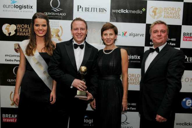 Russia's Leading Destination Management Company 2012 (World Travel Awards)