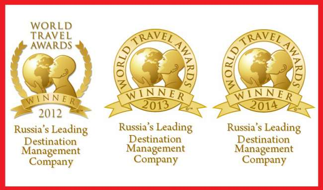Russia's Leading Destination Managment Company 2014 (World Travel Awards)