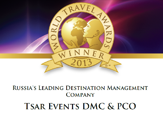 Russia's Leading Destination Management Company 2013 (World Travel Awards)
