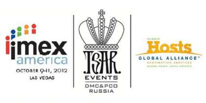 Tsar Events DMC & PCO will be in IMEX America together with Host Global Alliance Team
