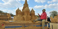 International Sand Sculpture Festival will take place in St. Petersburg