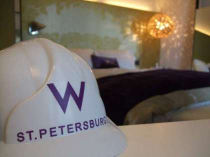 Stay in newly opened W St. Petersburg Hotel for EUR 140 ONLY