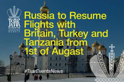 Russia to Resume Flights With Britain, Turkey, Tanzania From Augast 1st