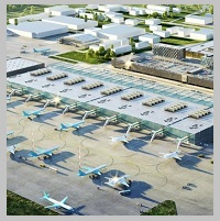 New airport Ramenskoe opened in testing mode in Moscow region