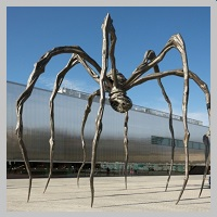Louise Bourgeois' Exhibition will be in Moscow till February, 2016