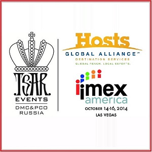 MEET TSAR EVENTS DMC & PCO TEAM AT IMEX AMERICA IN LAS VEGAS AT HOST GLOBAL ALLIANCE STAND